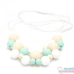 Collar de Lactancia Mordedor Silicona Jewelry Mint