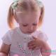 Pack Collar Mordedor Mini + Sujeta Chupetes Mordedor Personalizado de Silicona Butterfly Pink