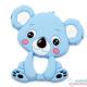Mordedor Silicona Koala Azul