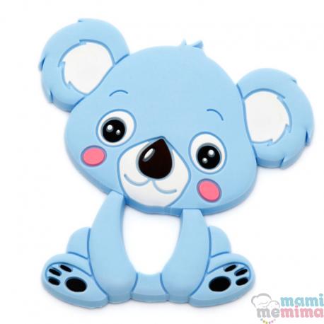 Mordedor Silicone Koala Azul
