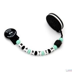 Confezione regalo Biter Biscotto + Soggetto Ciucci anello Dentizione su ordinazione del Silicone di Rock Bambino Menta
