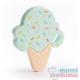 Mordedor Silicona Ice Cream Mint