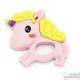 Mordedor Silicone Unicorn rosa