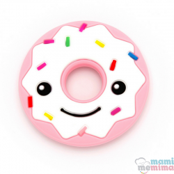 Massaggiagengive Silicone Donuts Rosa