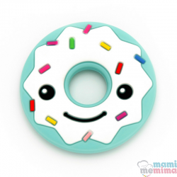 Mordedor Silicona Donuts Smile Mint
