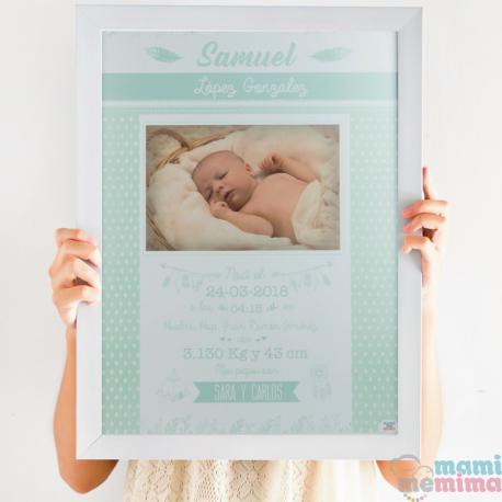 Lámina de Nacimiento Mint