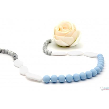 Collar de Lactancia Mordedor Silicona Sweet Blue 077dfbf6086e