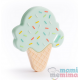 Mordedor Silicona Ice Cream Mint