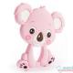 Mordedor Silicona Koala rosa