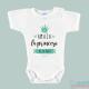 """Body Bebé Personalizado con Nombre """"Soy la princesa de la casa"""""""