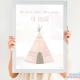 Pack 3 Láminas - Lámina de Nacimiento y Láminas Decorativas Color Rosa