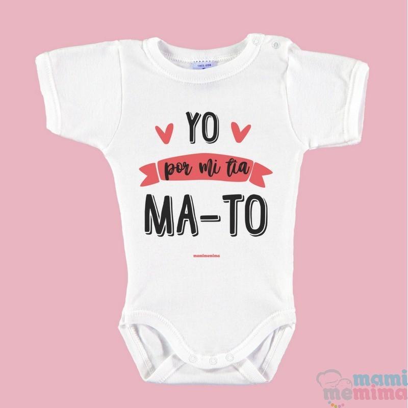 Body Bebé Divertido Yo Por Mi Tía Ma To