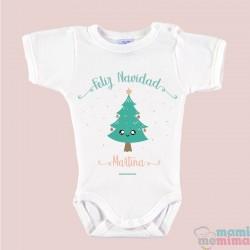 """Body Bebé Personalizado Navidad """"Arbolito"""""""