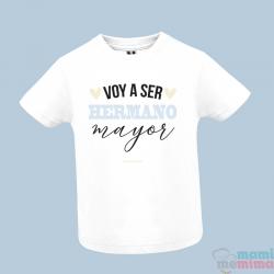 "Camiseta Infantil ""Voy A Ser Hermano Mayor"""