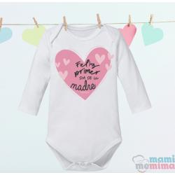 """Body Bebé Mamá """" Feliz Primer Día De La Madre"""""""