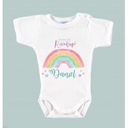 """Body Bebé Personalizado """"Mima Rainbow"""""""