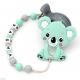 Pack Juguete Mordedor Para Carrito Personalizado Koala Mint