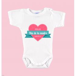 """Body Bebé Día de la Madre """"FELIZ DÍA DE LA MADRE"""""""