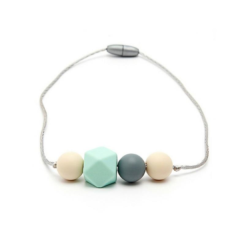 Collar Mordedor Silicona Para Niñ@s Modelo Mini Ariadne