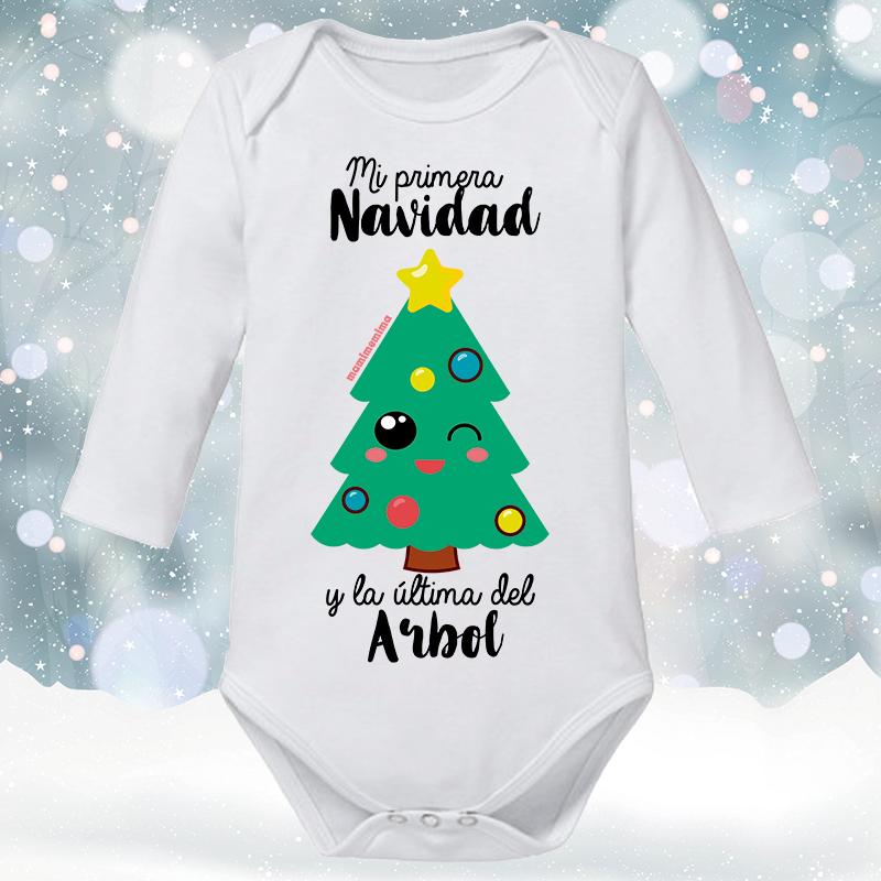 """Body Bebé """"Mi Primera Navidad Y La Última del Árbol"""""""