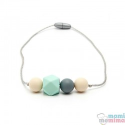 Collar Mordedor Silicona Para Niñ@s Modelo Mini Ariadna