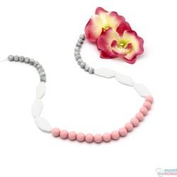 Collana da Allattamento Massaggiagengive Sweet Pink