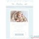 Poster Nascimento Azul com fotografia