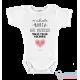 """Body Bebê Personalizado """"minha avó/madrinha/tia me ama muito"""""""