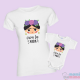 "Pacote Camiseta Maê e Body Bebê Frida khalo - ""Viva La Vida"""""