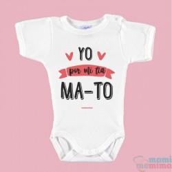 """Body Bebê """"Eu pela minha tia ma-to"""""""